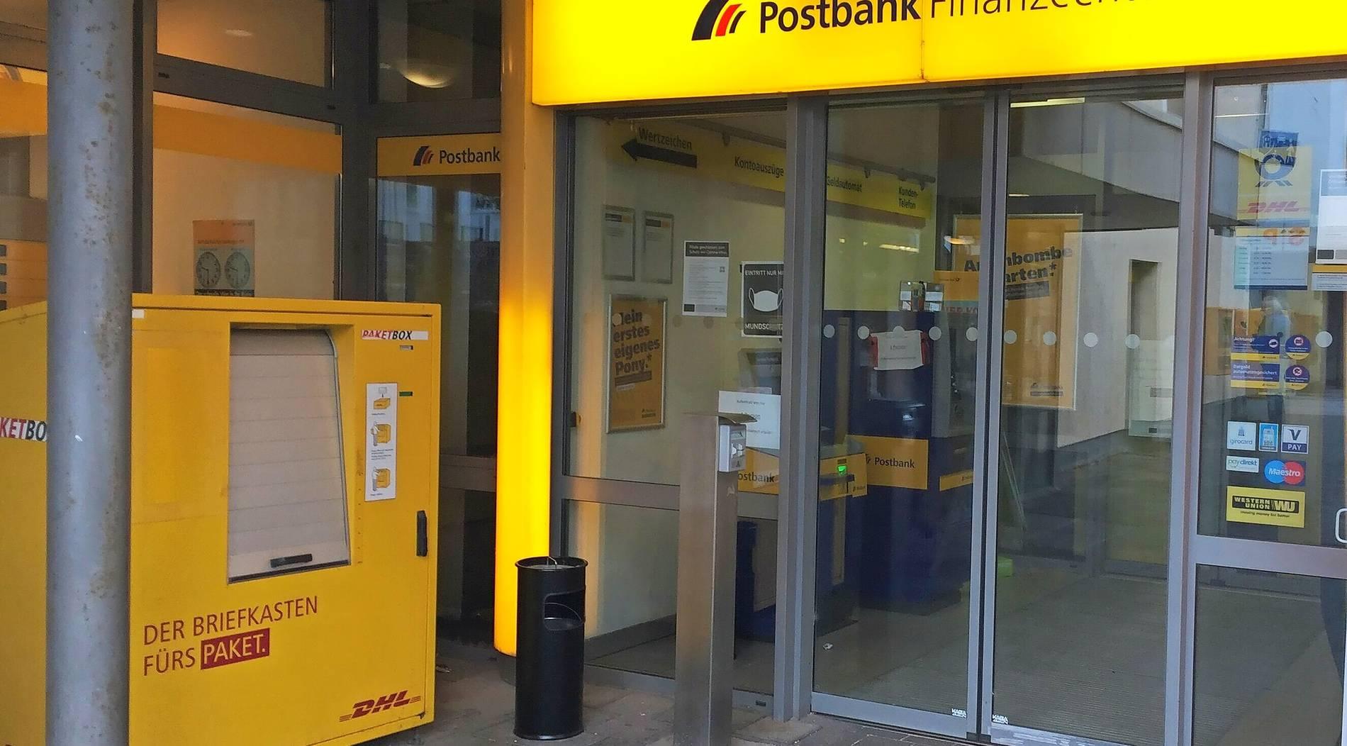 Corona-Fall: Post und Postbank in Wittlich haben geschlossen