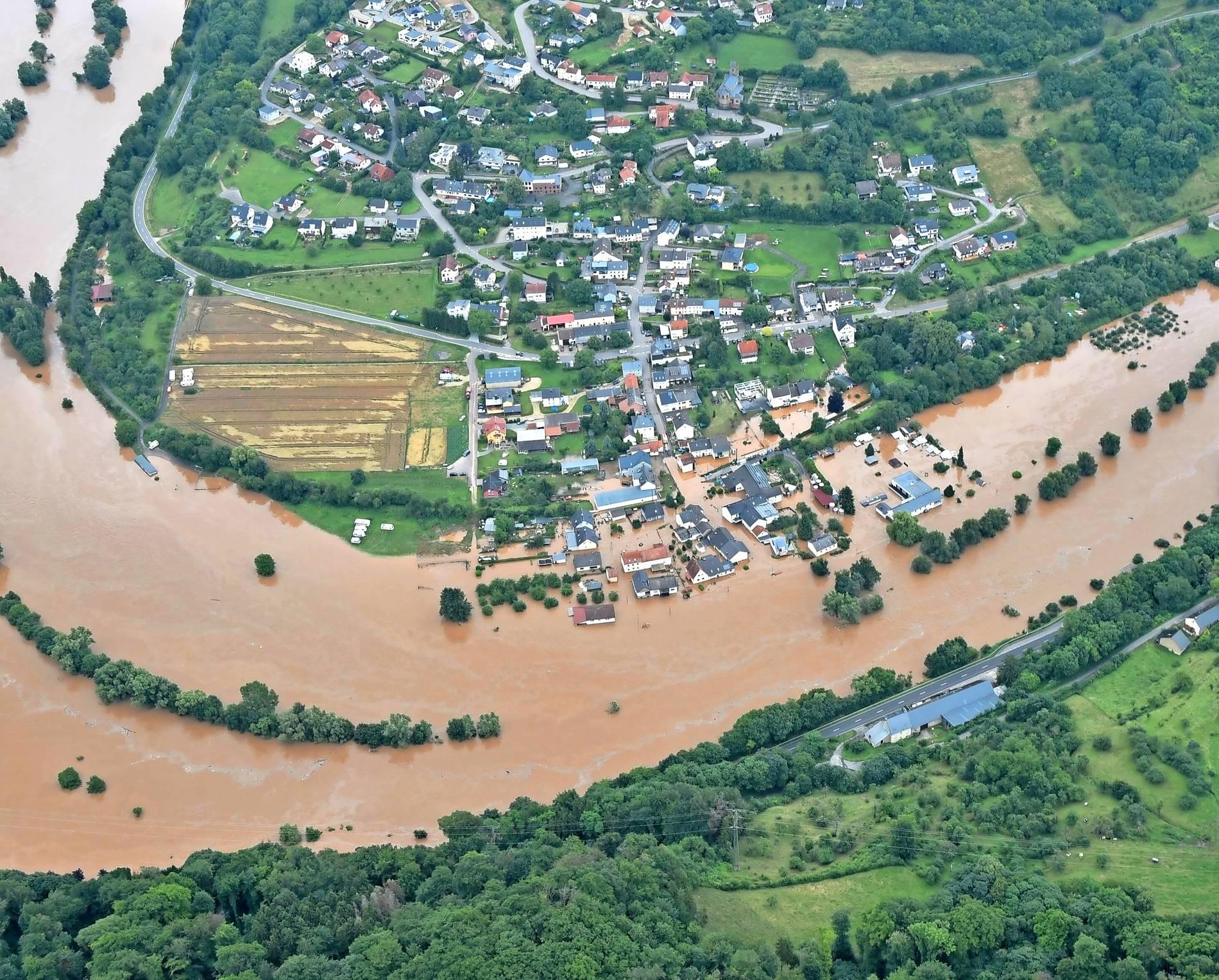 Dramatisches Hochwasser an der Sauer   Persönliche Schicksale der ...