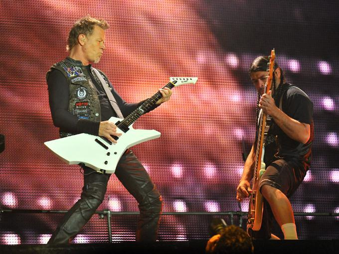 Metallica bei rock am Ring.