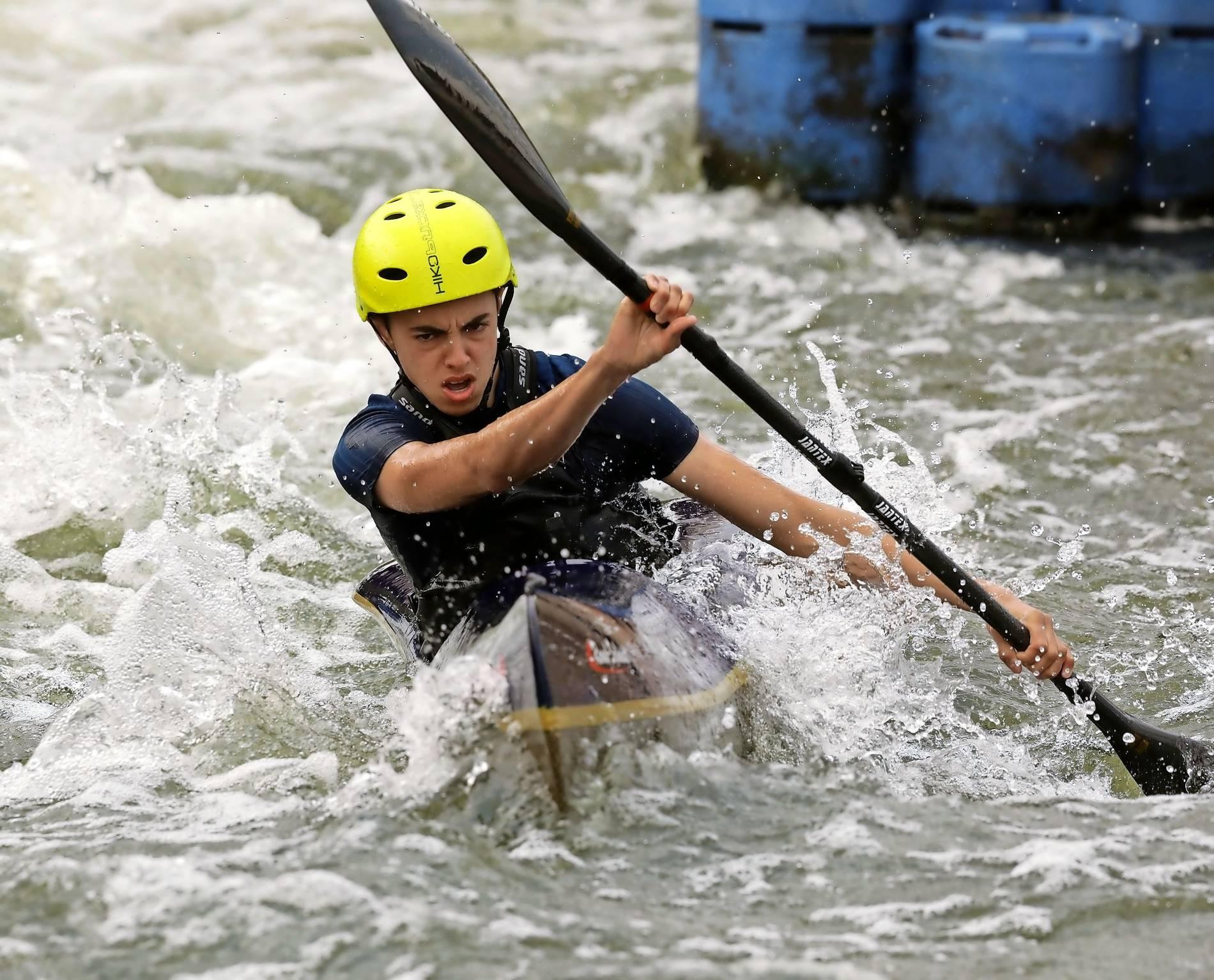 Diekirch/Bitburg Wildwasser-Kanuten müssen hart im Nehmen sein...