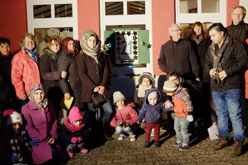 Dieser Advent ist multikulturell: Flüchtlinge in Heidenburg ...