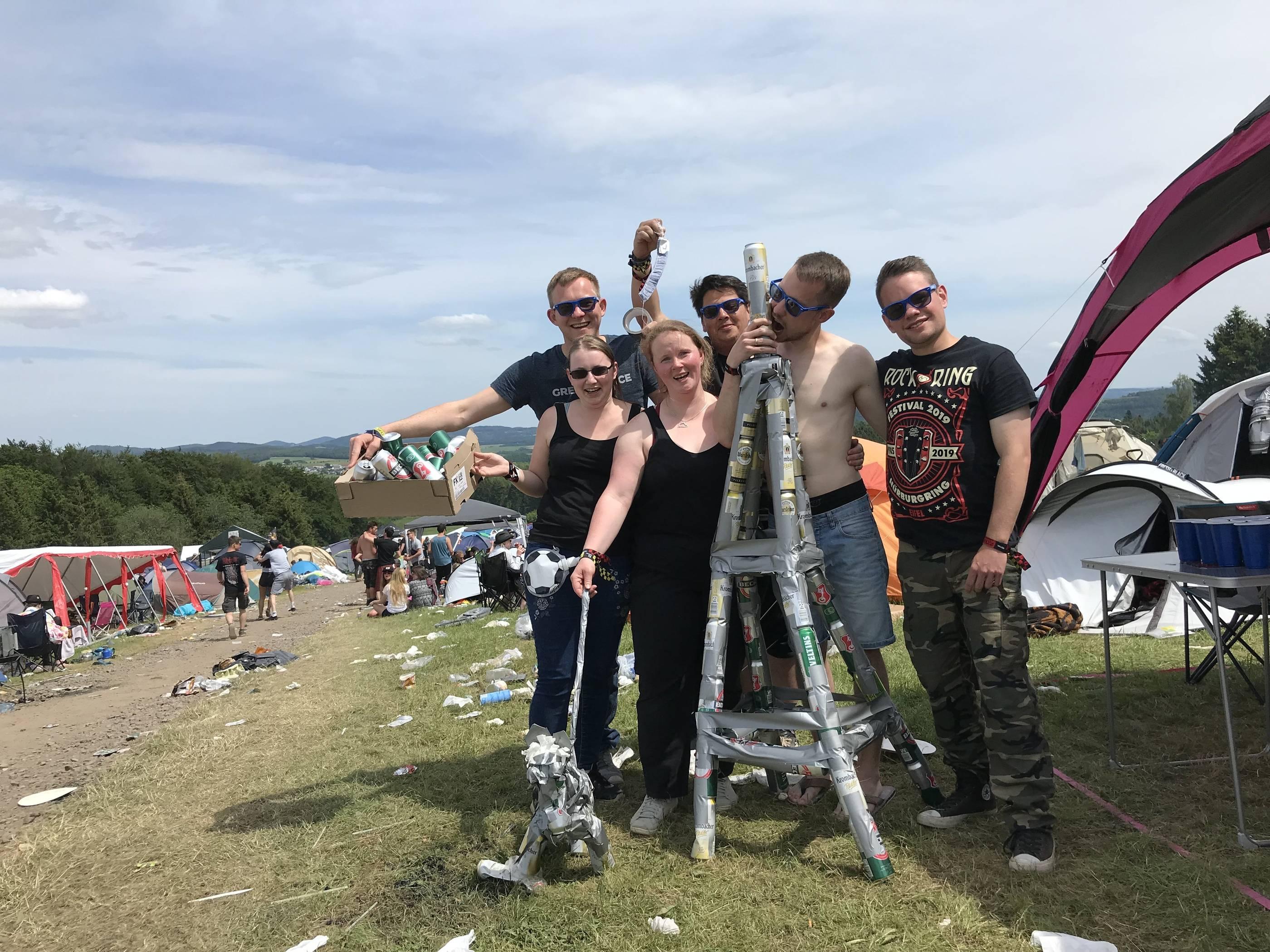 Rock Am Ring 2019 Party Auf Den Campingplätzen