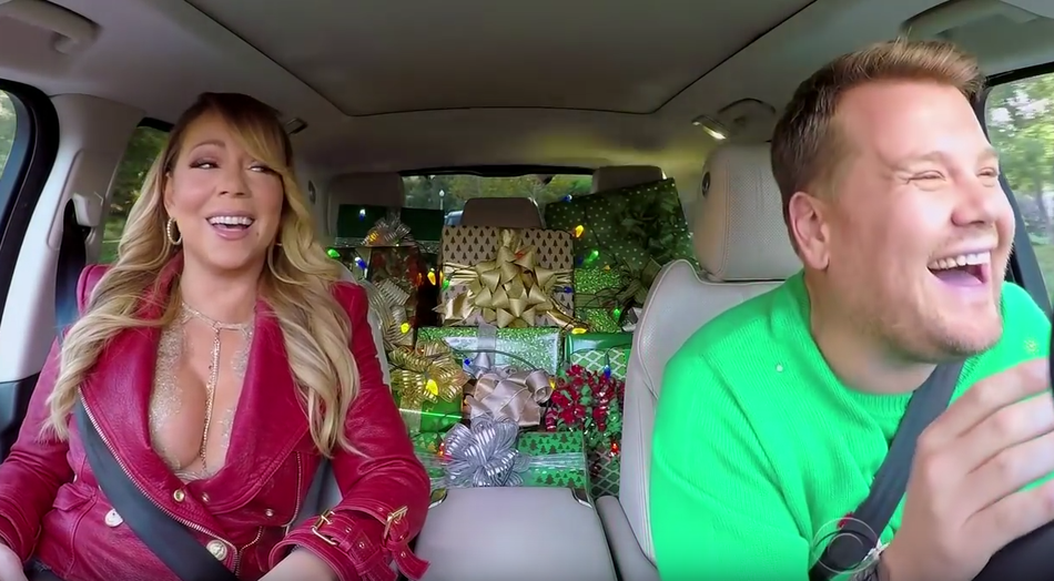 "Mariah Carey & Co. singen Kult-Weihnachtslied bei ""Carpool Karaoke ..."
