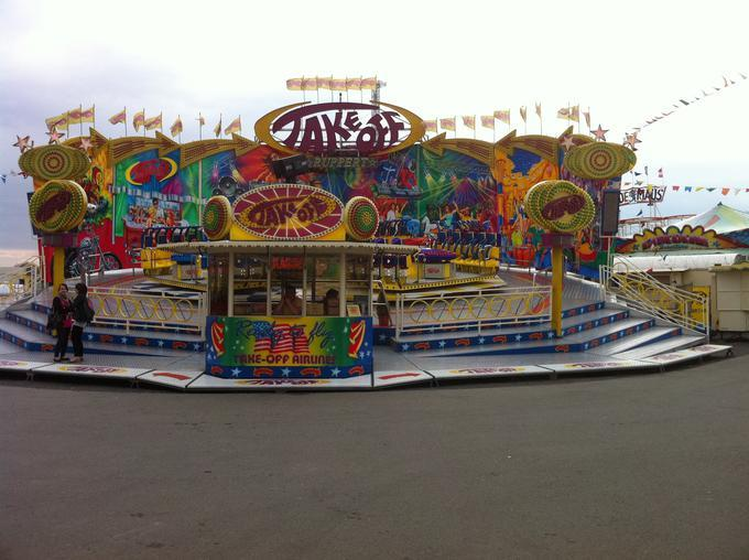 Volksfest Trier: Im Messepark gehts rund