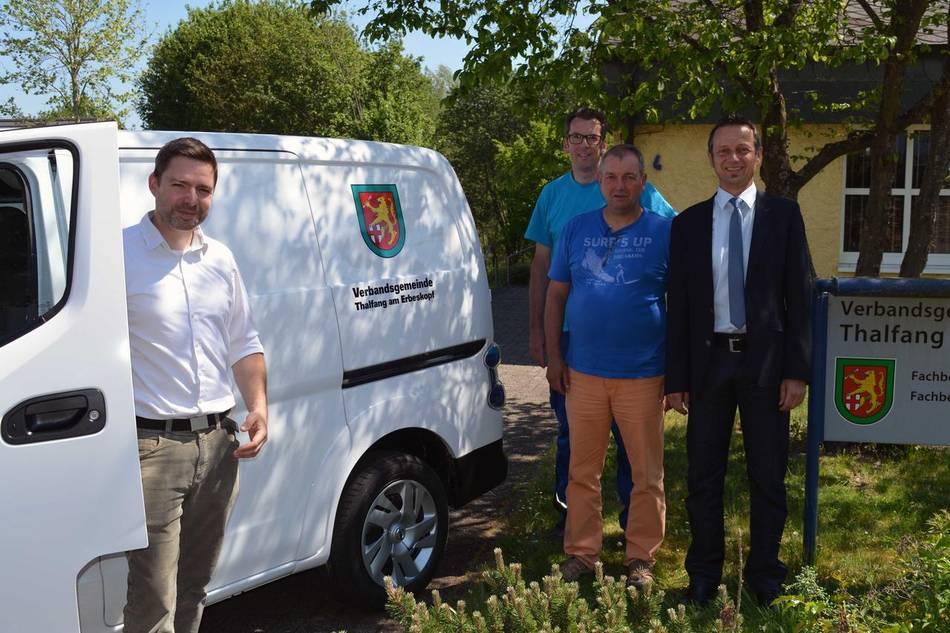 Verbandsgemeinde Thalfang am Erbeskopf fährt elektrisch
