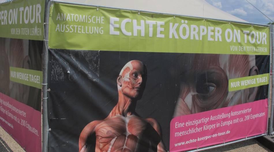 Leichen-Ausstellung in Trier sorgt für Unmut