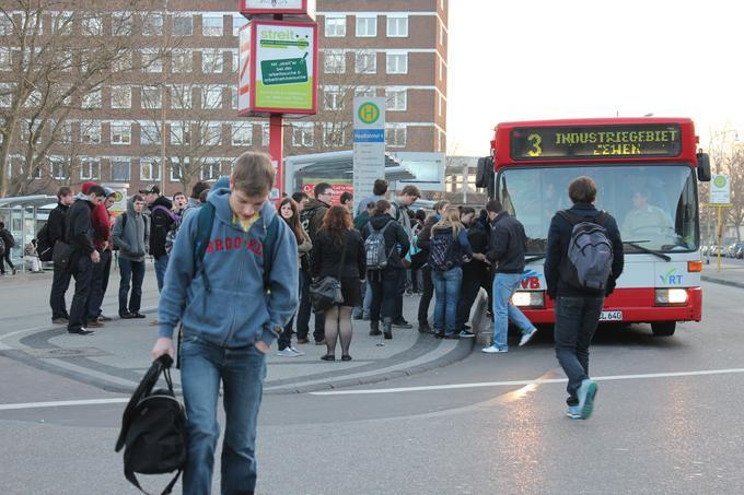 Busfahrer Streik Morgen