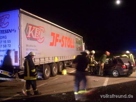 Lkw Unfall A60 Heute