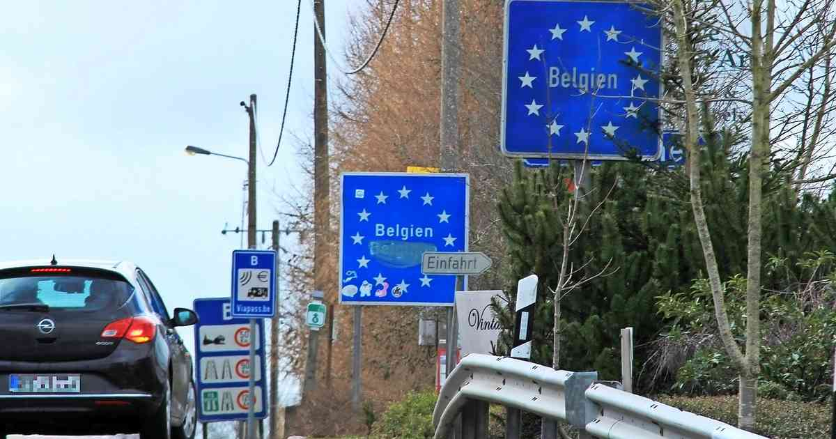 Grenze Belgien Offen