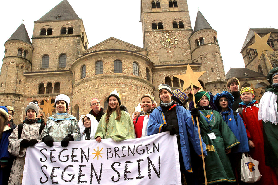 Bundesweite Eröffnung der Aktion Dreikönigssingen