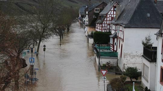 Hochwasser Reil