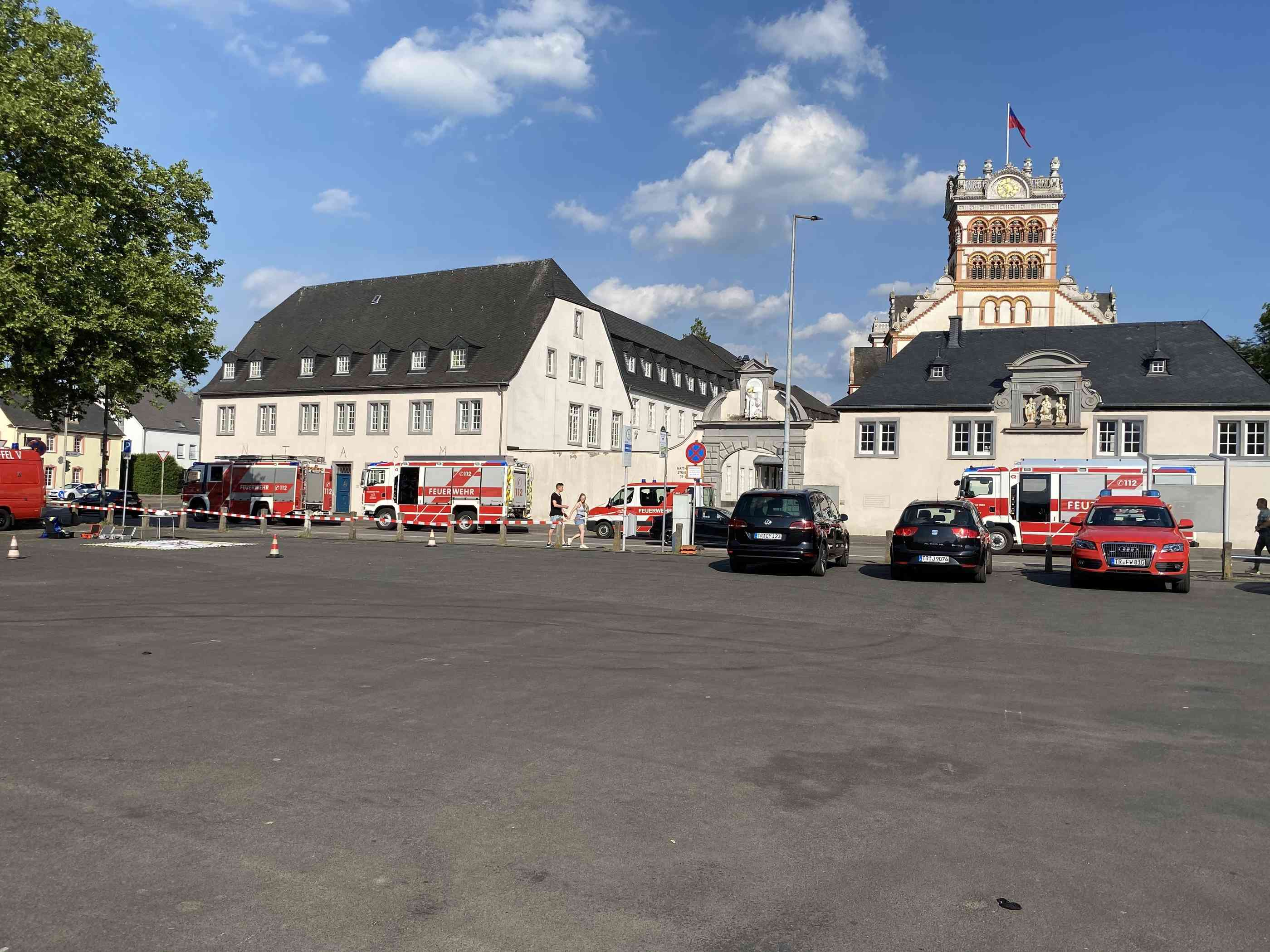 Bombenentschärfung In Trier
