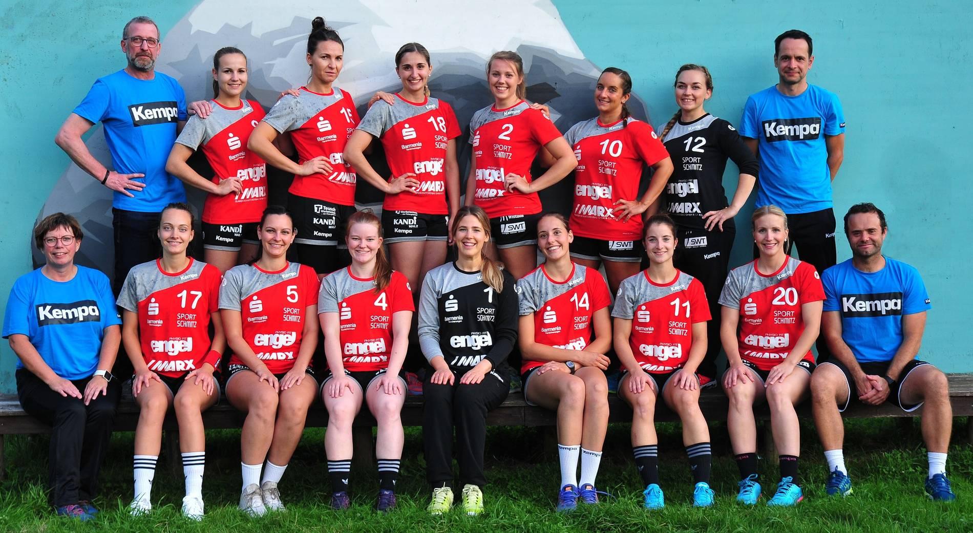 3 Frauen Handball Liga