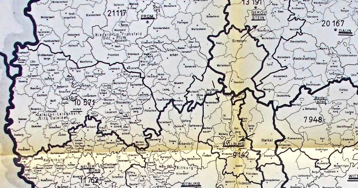 Vor 50 Jahren wurden die Kreise Bitburg und Prüm zum Kreis