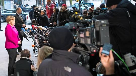 Merkel soll am 14. März wiedergewählt werden
