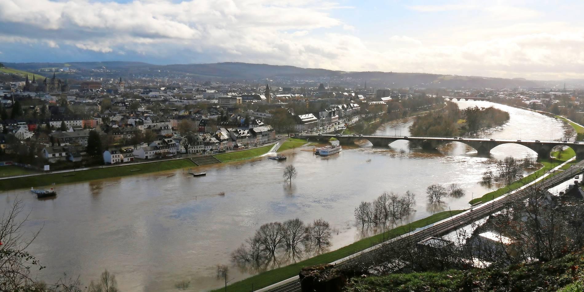 Mosel Hochwasser